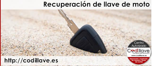 codillave recuperação das chaves da motocicleta