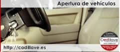 Apertura de Vehículos sin daños -Puntos Codillave España-