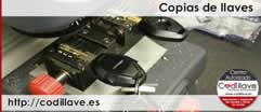 Copias de llaves de coches, motos, camiones -Codillave-